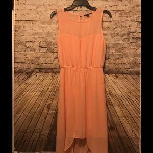 Forever 21 peach maxi dress NWT
